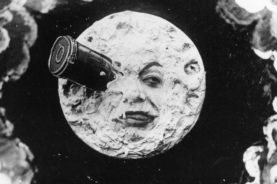 Image from 'A Trip to the Moon' by George Melies